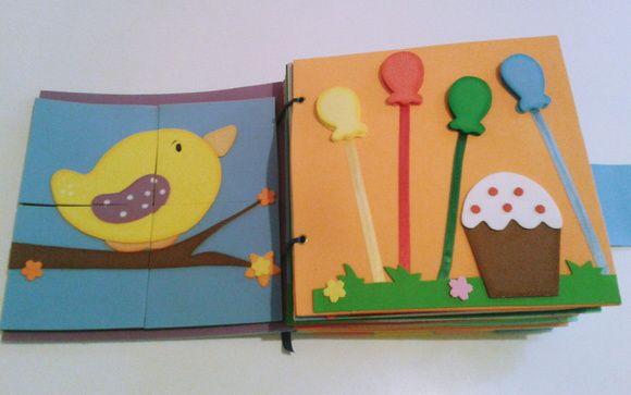 Livro de Atividades (Livro Sensorial)