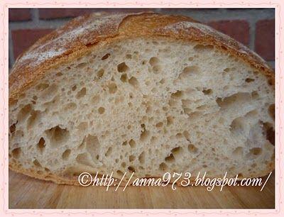 Белый хлеб на закваске - White leaven bread