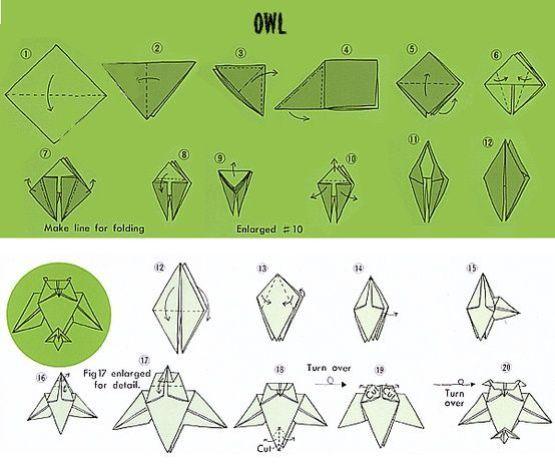 origami hibou 10
