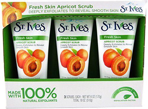 St Ives Apricot Scrub 36 Oz Total 18 Oz Fresh skin *** For more information, visit image link.