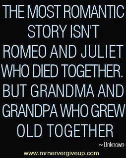 It took a lot of work for them to grow old together. Marriage is not easy, but it is worthwhile.  / quotes & funny things/SylviaDros