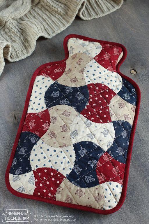 Чехол для грелки / Hot water bottle cover