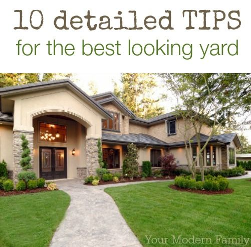 DIY green lawn care tips : 10 detailed tips to get you the best looking lawn in the neighborhood