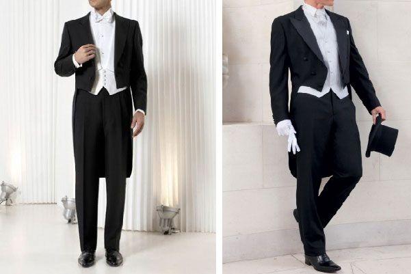 El frac es el traje de novio que debe de utilizarse en bodas de noche y de etiqueta rigurosa #bodas #elblogdemaríajosé #trajenovio #tipoboda #etiquetaboda #bodanoche
