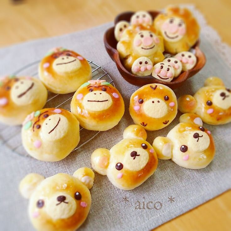 Cute Japanese Mascots Bread | aico's room