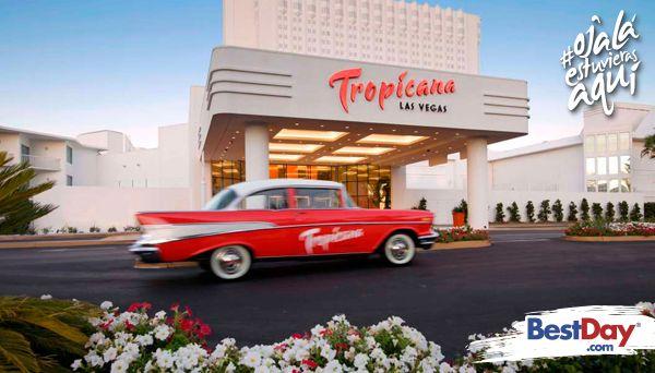 Disfruta de instalaciones con estilo de South Beach, Miami. El hotel cuenta con lo más importante para pasarla a lo grande en estas vacaciones: un casino fenomenal, un excelente repertorio de restaurantes y bares, shows nocturnos y habitaciones con un estilo fresco y relajante. Ven a descubrir las grandes atracciones en Las Vegas. ¡Hospédese en este hotel y experimente las vacaciones más increíbles que haya tenido antes! #OjalaEstuvierasAqui