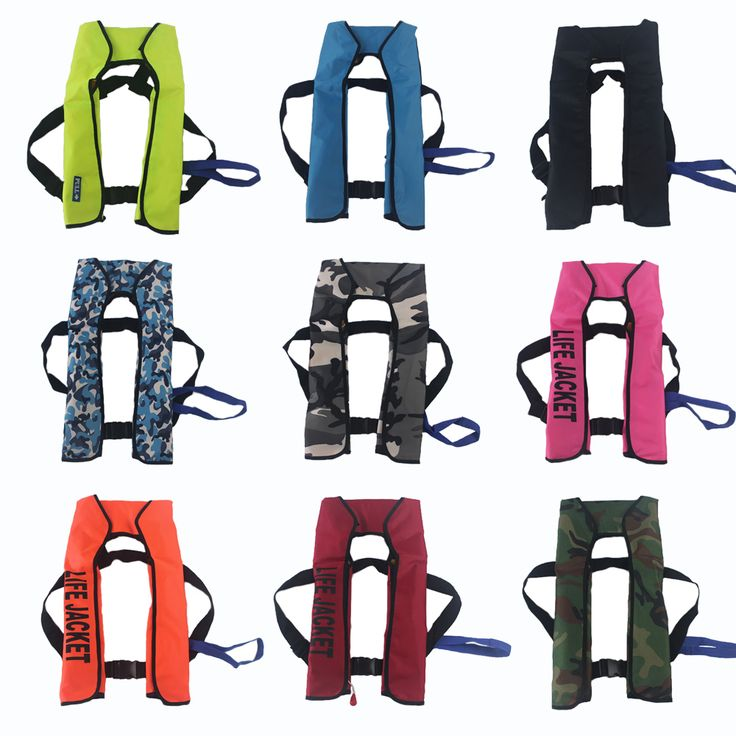Top Quality Automatic Inflatable Life Jacket Drifing and Fishing Life Vest Rescue CO2 Lift Jacket Vest