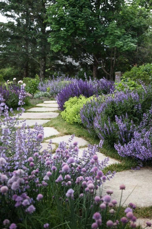 40+ Brilliant ideas for stone paths in your garden  – Wege im Cottage Garten