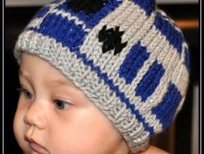 Knit Star Wars R2D2 Hat — Newborn, Infant, Toddler | Geek-a-bye Baby