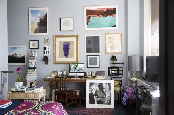 We tour Carlos Souza's quirky-classic home, plus an exclusive interview!