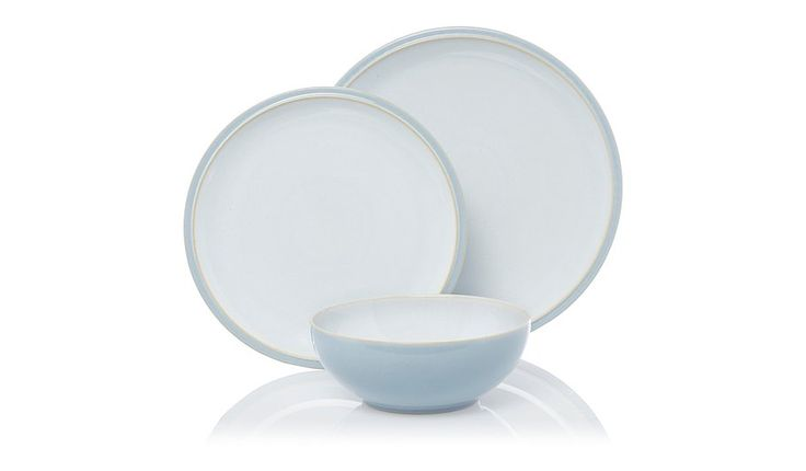 Buy Denby Cool Blue Everyday Dinner - Set - 12 Piece from our Tableware range today from George at ASDA.