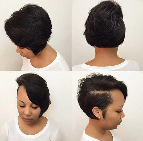 Short Hairstyles Black Hair african american women short hairstyles and haircuts 2017 2018 Black Women Short Hairstyle 2016