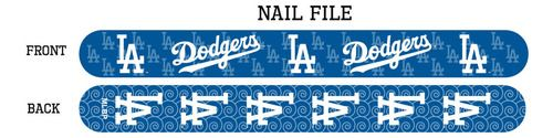 Los Angeles Dodgers Nail File