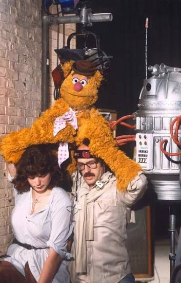 Muppet Show_Louise Gold right-handing Fozzie Bear for Frank Oz