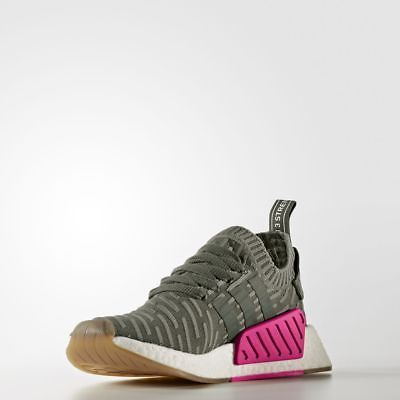 dfdb6c277 Women s NMD R2 PK W Japan Olive   BY9953   Adidas Boost Primeknit Pink  White Gum