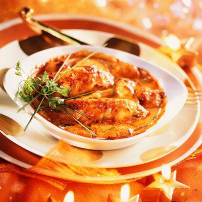 Quenelles de brochet à la bisque de homard Découvrez la recette Quenelles de brochet à la bisque de homard sur cuisineactuelle.fr.