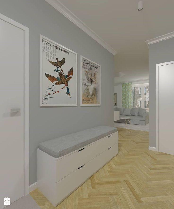 Hol / Przedpokój styl Skandynawski - zdjęcie od Studio Monocco - Hol…