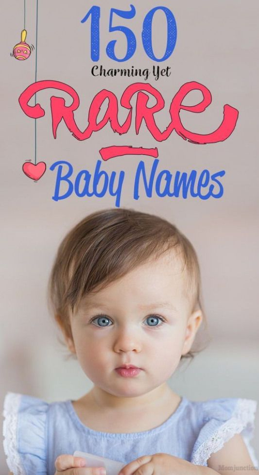150 Charming Yet Rare Baby Names That Could Soon Be Extinct : Names that are rar…