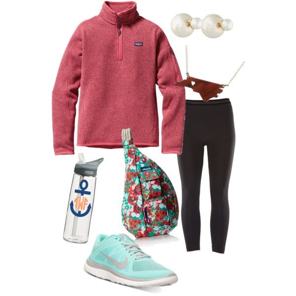 Typical preppy girl outfit