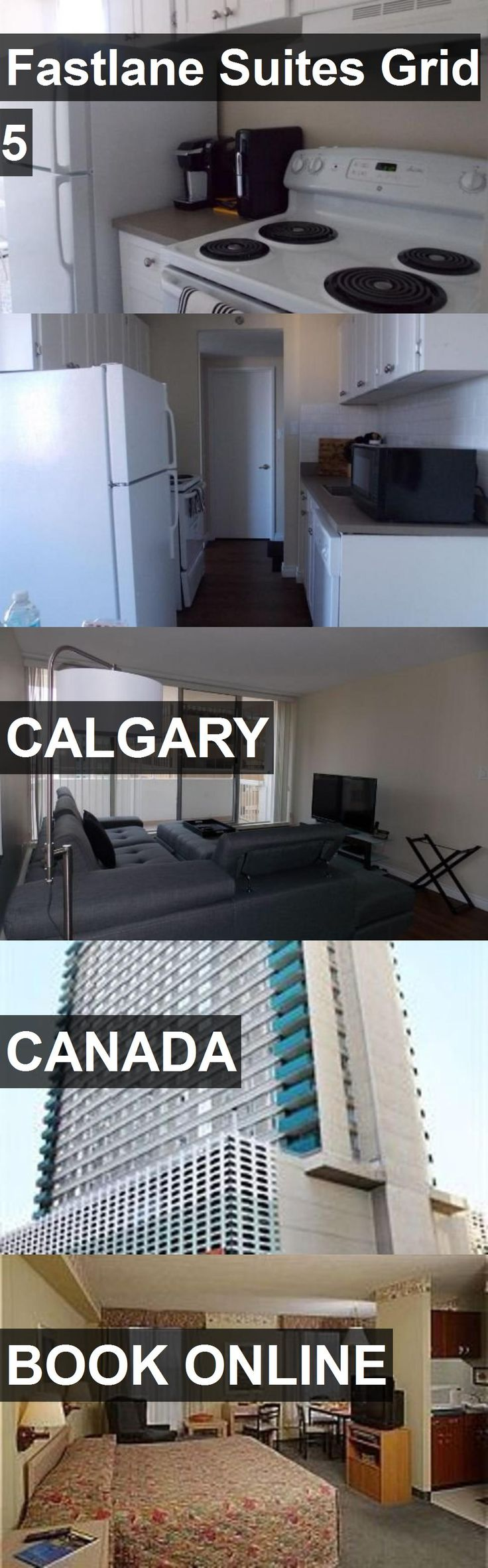 Hotel Fastlane Suites Grid 5 in Calgary, Canada. For more information, photos, reviews and best prices please follow the link. #Canada #Calgary #travel #vacation #hotel