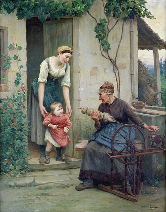 """The Three Ages"" --- by Jules Scalbert"