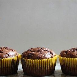 Chocolate Zucchini Muffins (The Best I Ever Had)