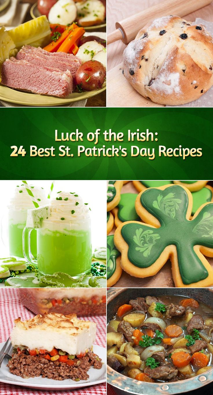 Luck of the Irish: 24 Best St. Patrick's Day Recipes
