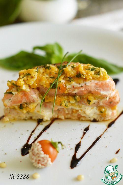 """Рыба """"Милефолле"""" - кулинарный рецепт"""