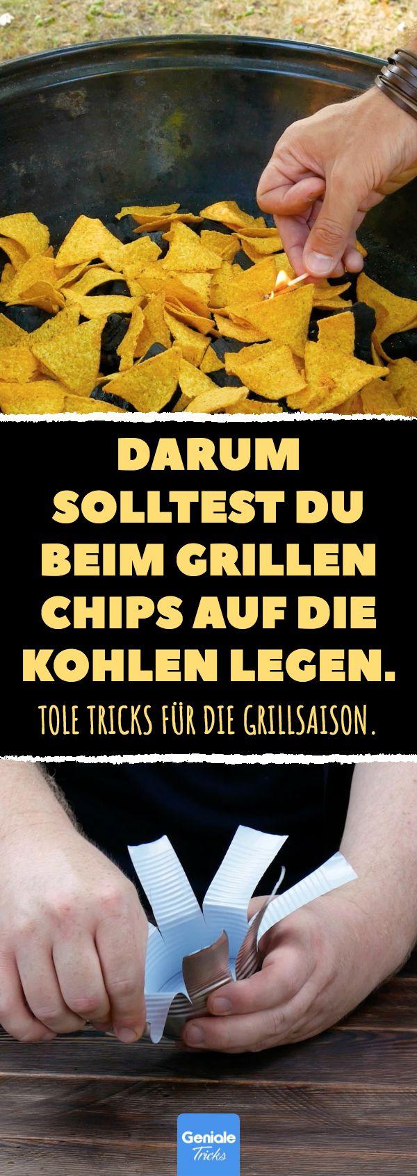 Aus diesem Grund sollten Sie beim Grillen Chips auf die Kohlen geben. Unsere besten Tipps für …