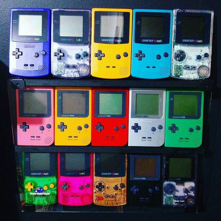 An excellent gameboy color collection by @dana_wellman  The usual suspects  #gameboycolor #game #gamer #gamergirl #videogames #nes #snes #nintendo #sega #atari #playstation #xbox #retrogame #retrogamer #follow #iwant #shelfie #followme #ninstagram #childhood #nostalgia #oldschool #collection #arcade #games