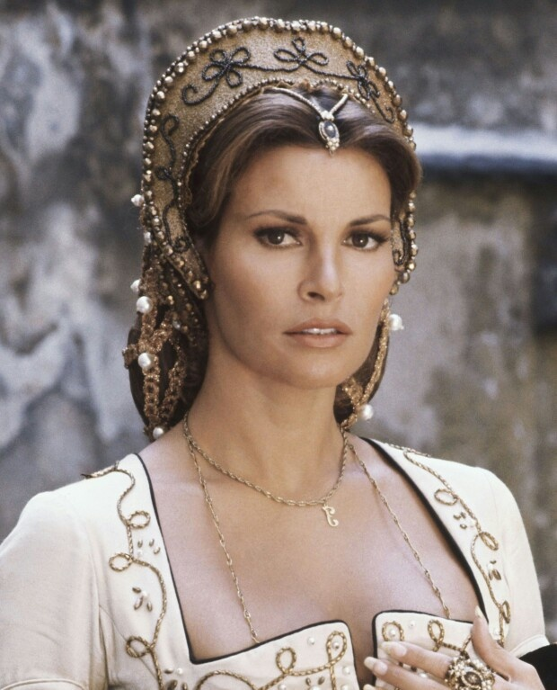 Raquel  Welch - As Constance de Bonacieux in 'The Three and Four Musketeers'