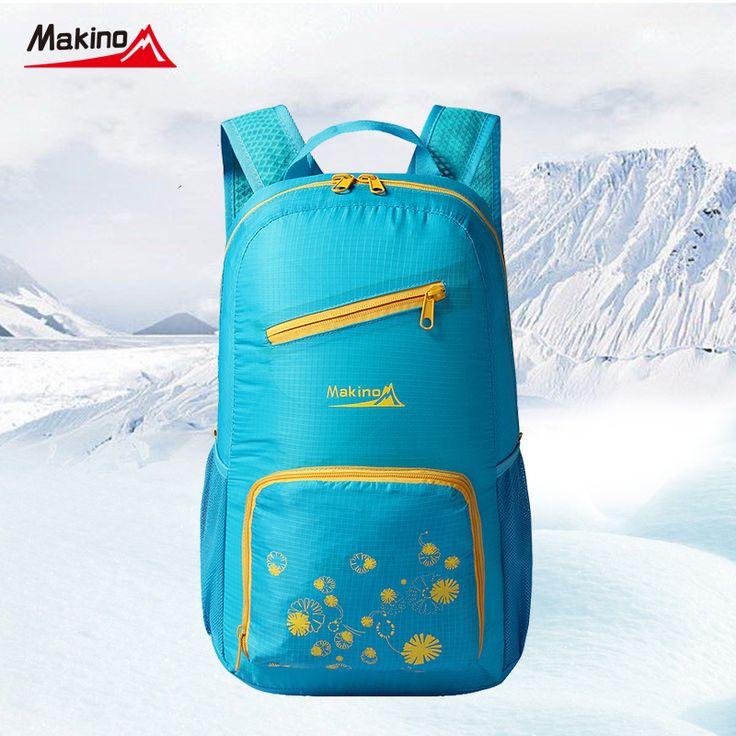 Makino Skin Sport Nylon Bags Waterproof Lightweight Foldable Women Men Children Skin Pack Backpack Camping Hiking Bag Rucksack