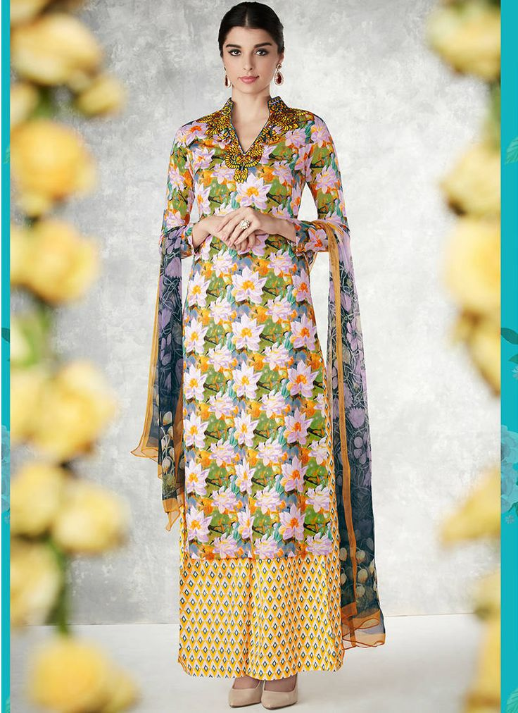 Purchase Classy Look Cotton Salwar Suits With Upto 70% Off at Mirraw. Free delivery & COD. Worldwide Express Shipping.