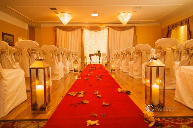 Room setup for the ceremony - Finnstown Castle Hotel (formerly Finnstown House Hotel)