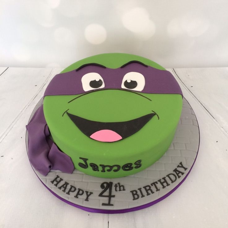 The 25+ best Ninja turtle cakes ideas on Pinterest | Ninja ...