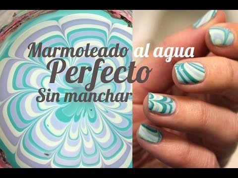 Marmoleado al agua perfecto sin manchar | TRUCOS Water Marble | ¡NUEVA TÉCNICA! - YouTube