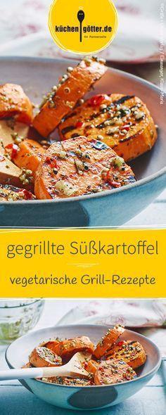 Wie grillt man Süßkartoffeln richtig? Wir sagen es euch in unserem Rezept!