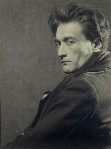 Man Ray, Portrait of Antonin Artaud, 1926.Ideas More Pins Like This At FOSTERGINGER @ Pinterest