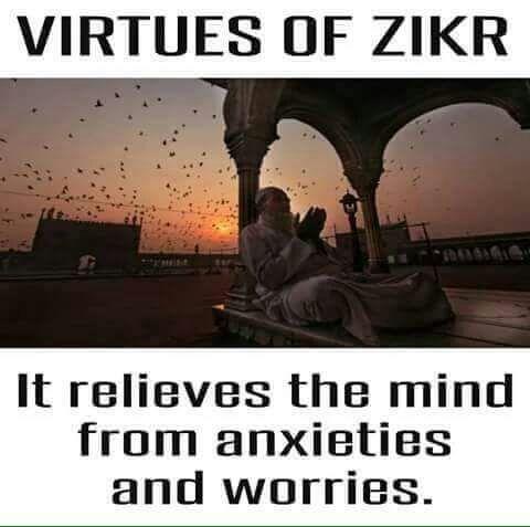 Dhikr isn't just Subhan'Allah, Allah Akbar, Alhamdulillah & la illallah. It's any action that Allah likes.