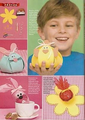 Manualidades variadas Conejo de papel,para tus fiestas infantiles.