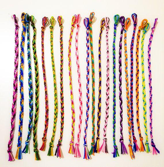 Cute Handmade Friendship Bracelets by ArmCandySquared on Etsy, $0.99