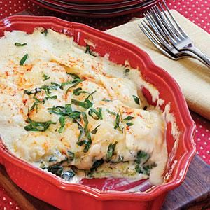Spinach-Ravioli Lasagna Recipe | MyRecipes.com