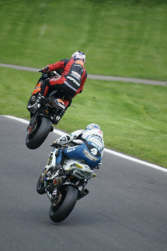 The mountain at Cadwell. Left then right, up the hill with double peak. If you get it right it looks like this.