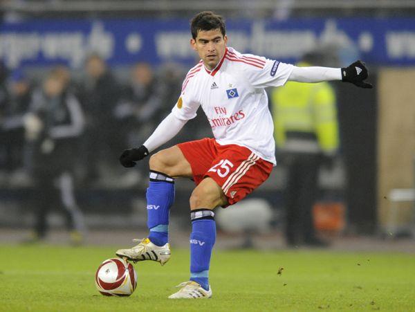 Tomás Rincón.  Hamburger Sport-Verein. -Alemania