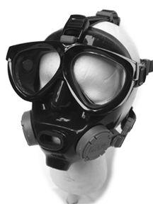 Alternative Scuba Dive Mask | Scuba Mask | Scuba Diving Masks | The Air Line Hookah by J. Sink - mantis mask