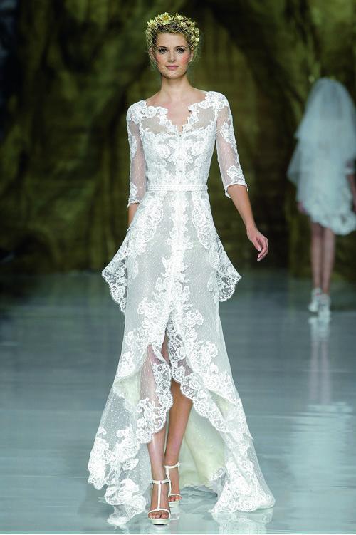 abito da sposa Yaela Atelier Pronovias 2014