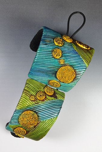 Bracelet Manchette #2 dos | Fimo Maniguette