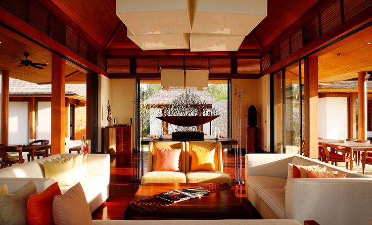 Villa Jenna at Natai   Phuket - Lichtdurchfluteter Wohnbereich