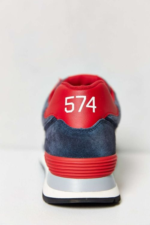 """unstablefragments: """" New Balance 574 Pennant Collection Sneaker Buy it @  urbanoutfitters """""""