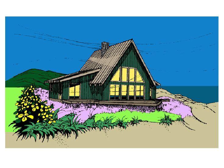 23 best A-Frame House Plans images on Pinterest | House floor plans ...